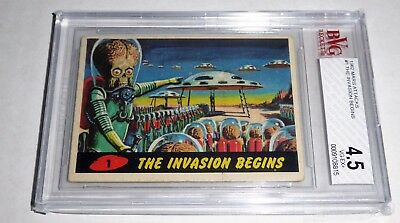 1962 Mars Attacks The Invasion Begins #1 BVG 4.5 Like PSA BGS Non Sports Card