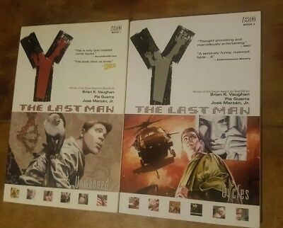 Y The last man Graphic novels Book 1&2