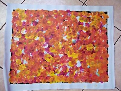 Bush Plum , by Listed Aboriginal Artist , Polly Ngale .