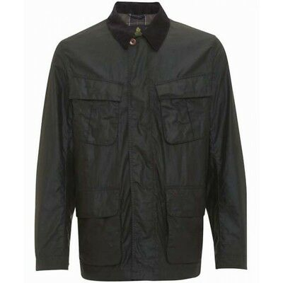 NEW mens XL barbour livingstone wax/waxed cotton Jacket olive