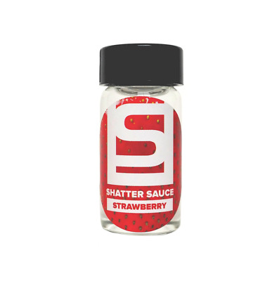 Shatter Sauce: Strawberry (15 ml) - Dab, Shatter, Liquidizer for Extracts, Wax