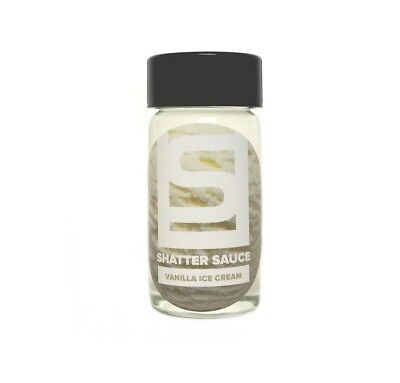 Shatter Sauce: Vanilla Ice Cream (15 ml) - Dab, Shatter, Liquidizer for Wax
