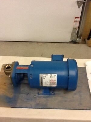 Burks Turbine Pump Model No. 1313063103 Three Phase