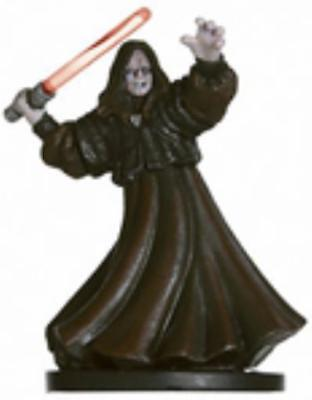 WOTC Star Wars Minis Revenge o/t Sith Emperor Palpatine - Sith Lord NM