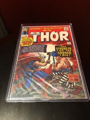Journey into Mystery #114 (Mar 1965, Marvel) - THOR - 1ST ABSORBING MAN