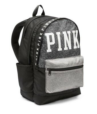 Victorias Secret PINK CAMPUS BACKPACK - MARL GRAY - 2017- NWT