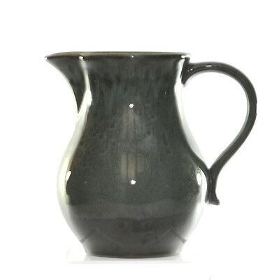 Original Collectable Vintage Holkham Pottery England Green Glazed Jug Rare