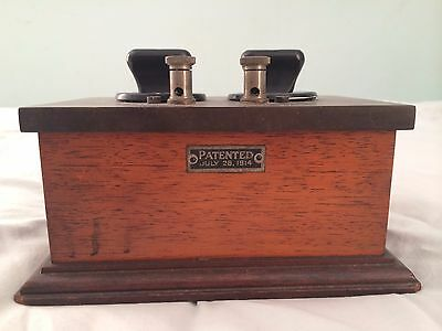Resistance Box, Measures Electrical -- *100 Years Old* -- First of its kind!