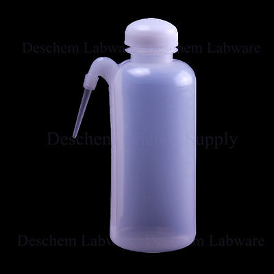 500ml,New Plastic Washing Bottle With Side Tube,Lab Chemistry Plasticware