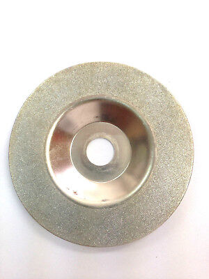 "100mm 4"" Diamond Glass Grinding Disc Wheel Angle Grinder Disc 60 Grits"