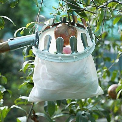 Fruit Picker Basket Apple Orange Pear Tree Grab Basket Picker Bag Picking Tool