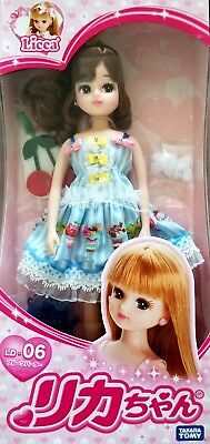 "Takara Licca Chan 9"" Japan Doll Blythe LD-06 Fruit Parlor Dress Body w/ Outfit"
