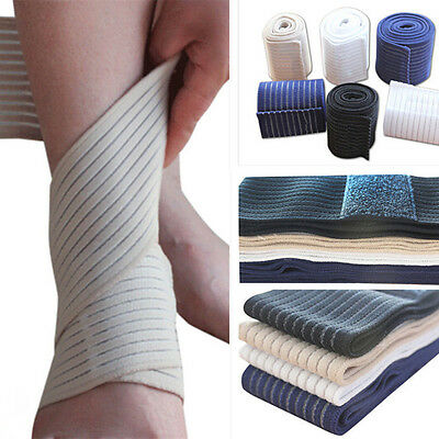 Wrist Knee Elbow Support Wrap Sport Bandage Ankle Hand Shin Compression Strap aq