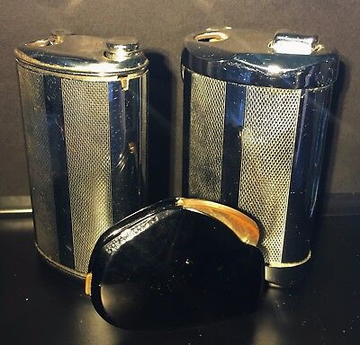 "LOT 3 BRIQUETS VINTAGE "" FLAMINAIRE GAZ "" / Fuel lighter, Feuerseug"