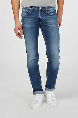 GAS ALBERT RS.A WF64 Pantaloni Jeans 5 tasche in denim slim Uomo