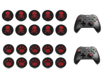 10X Cool PS3 PS4 XBOX ONE 360 Analog Controller Thumb Grip Thumbstick Cap Cover