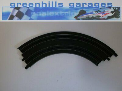 Greenhills Micro Scalextric standard curve 90 degrees Black ML12892 Used MT165