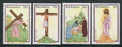 Barbados 1992 Ostern Easter Gemälde Paintings 793-796 Postfrisch MNH