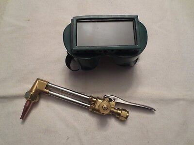 Prostar Light Duty Cutting torch head and goggles CA25 New