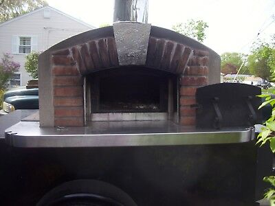 "The Caterer a Fire Within Mobile Pizza Oven  44"" deck or hearth"
