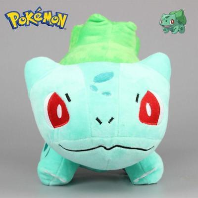 Pokemon Bulbasaur Plush Soft Toy Stuffed Anime Doll Teddy 6'' Kids Gift