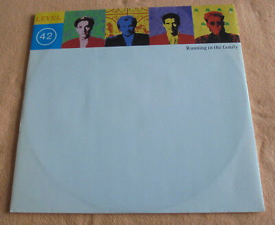 """12"""" Maxi Running In The Family   Level 42 ,Mint ungespielt, Polydor 885 518-1"""