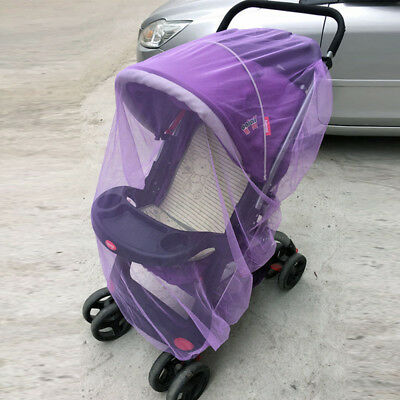 Pushchair Net Mosquito Baby Stroller Mesh Cover Bug Safe Infant Insect Protector