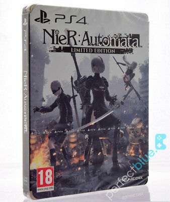 Nier: Automata Limited Edition Ps4 Brand New Factory Sealed