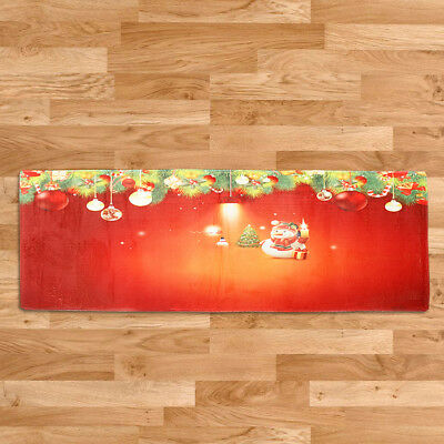Xmas 23''x70'' Extra Long Floor Runner Area Rug Doormat Float Window Mat 1#