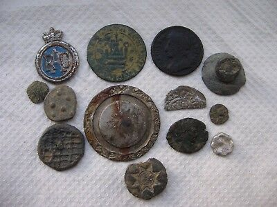 Nice   Group   Of   Metal  Detecting   Finds