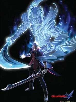 Fabric Poster Devil May Cry 4 Nero Devil Trigger Wall Scroll Art AUTHENTIC NEW