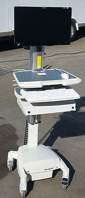Artromick NX10 Mobile Standing Medical Workstation Computer PC Cart