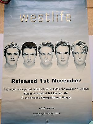 Westlife Poster HUGE Giant Shane Filan Fans Album Wall Picture Christmas Gift!