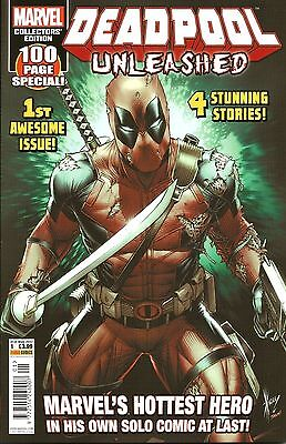 Deadpool Unleashed Vol.1 # 1 / Marvel / Panini Uk / May 2017 / N/m / 100 Pages!