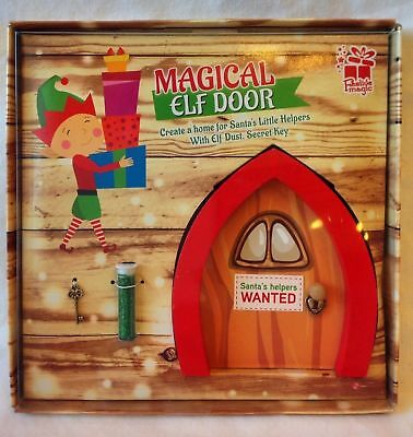 Magical elf door kit elf door key scroll magic dust for The magic elf door
