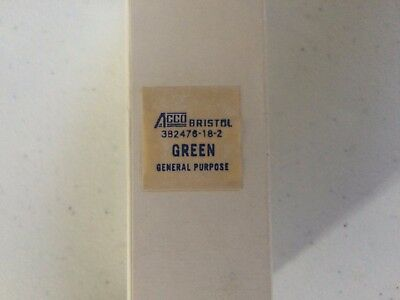 Chart Recorder Ink GREEN Bristol ACCO