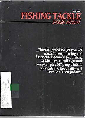 June 1986 Fishing Tackle Trade News Magazine-