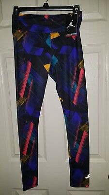 e51f8172362b Girls NIKE AIR JORDAN JUMPMAN DRI-FIT Leggings Pants Athletic XL 13-15yrs  NWT