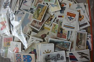 Cigarette Cards BULK LOT OF 450 DIFFERENT CIGARETTE CARDS.