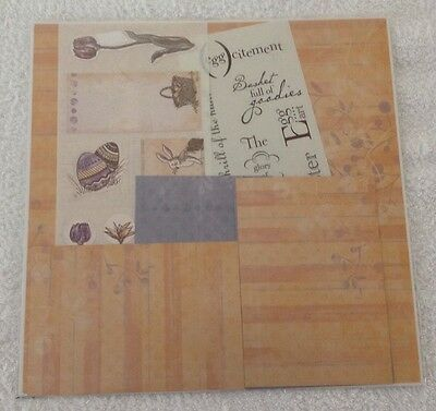 Creative Memories 12x12 Jewel Easter Additions