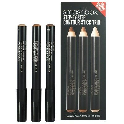 Smashbox Step-by-Step Contour Stick Trio 3 x 3,5g NEU&OVP