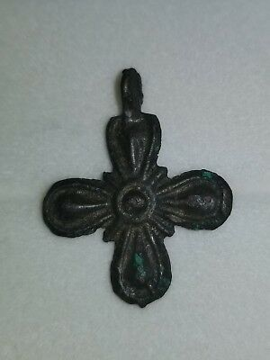 Medieval Crusaders Era Holy Land Cross Pendant
