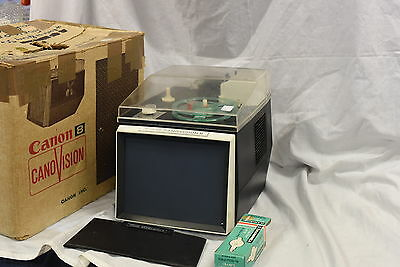 Canon 8 Canovision Film projector with Viewer