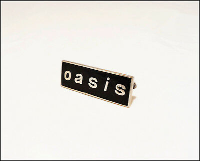 Oasis 90's Metal Pin Pinback Badge