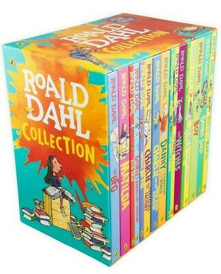 NEW Roald Dahl Collection 15 Paperback Books Boxed Set *Free Shipping*