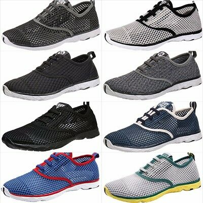 2b37fe0a5e2d Aleader Men s Quick Drying Aqua Water New Shoes Summer Beach Hiking Size 7  - 14