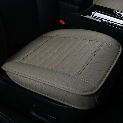 1PCS New Car Seat Bottom Cover Universal PU Leather Front Seat Car Seat Cover