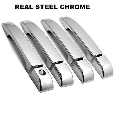 Land Range Rover L322 Vogue Chrome Door Handle Cover 2002-2009 Stainless Steel