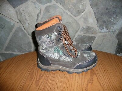 Rocky Boots Kids Waterproof Insulated Hunting Boots Youth Size 5 M