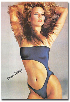 "Christie Brinkley 80s Models Fridge Toolbox  Magnet Size 2.5"" x 3.5"""